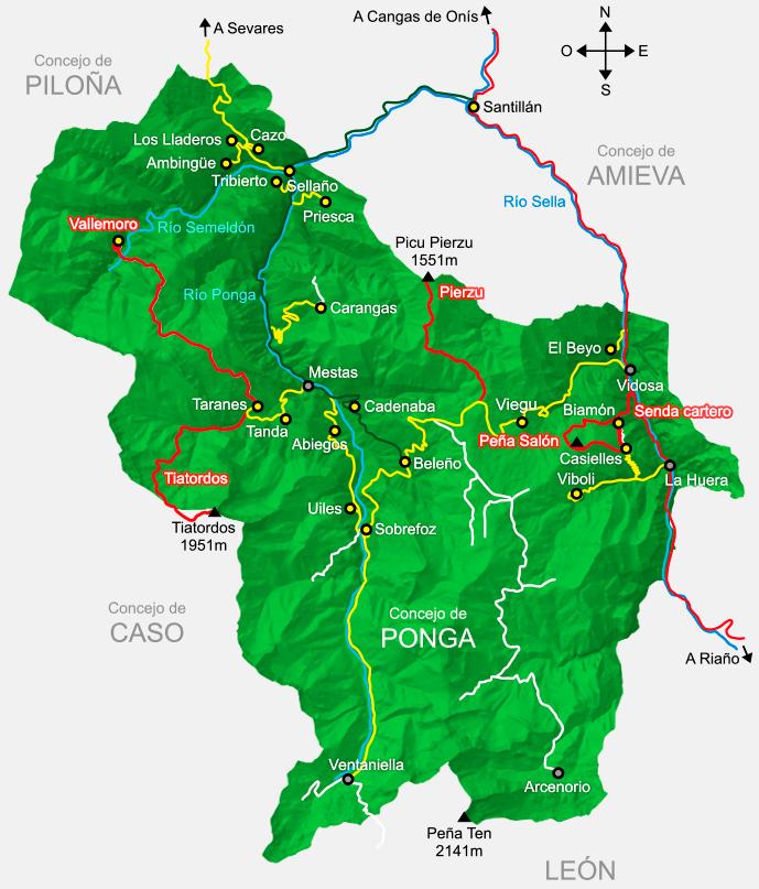 XORNDAS DE SENDERISMO- PARQUE NACIONAL DE PONGA