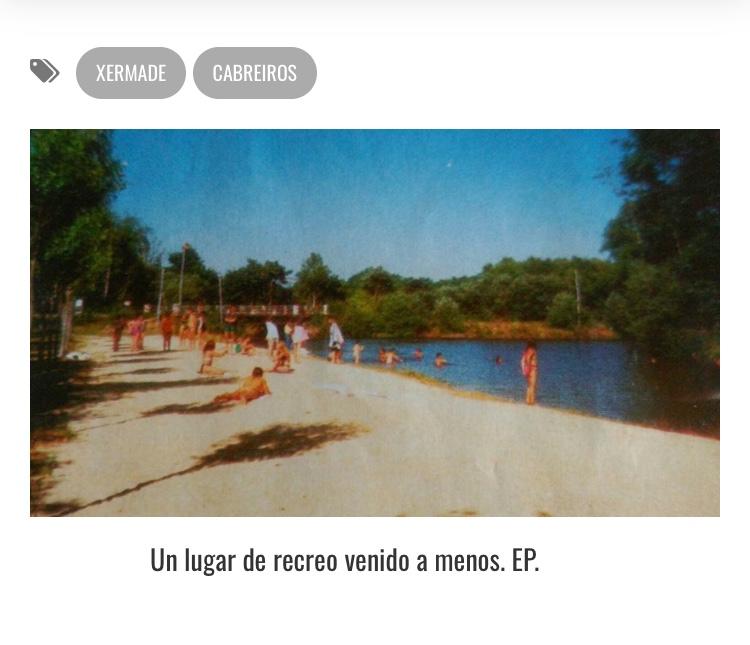 Impulsan un proxecto participativo para área recreativa de Cabreiros