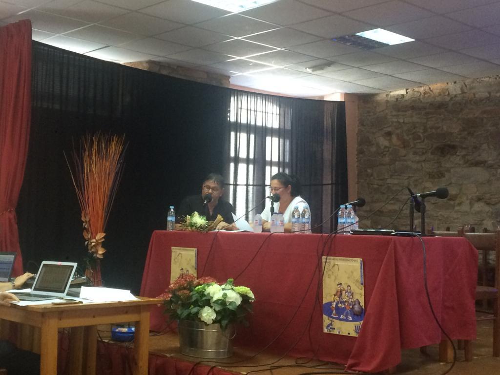 Laboratorio de Radio presentado por Manuela Vilaboy e Jose Manuel Felpeto