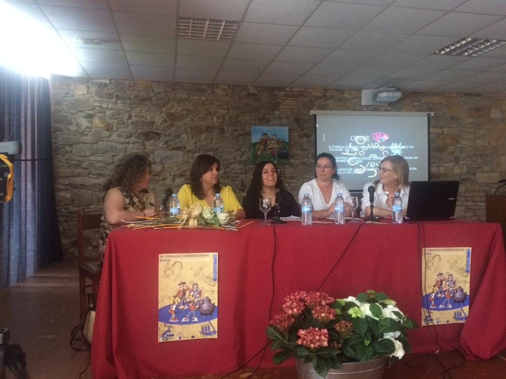 Membros do Centro Ocupacional de Vilalba e da Asociación de Discapacitados Activos A Xanela de As Pontes