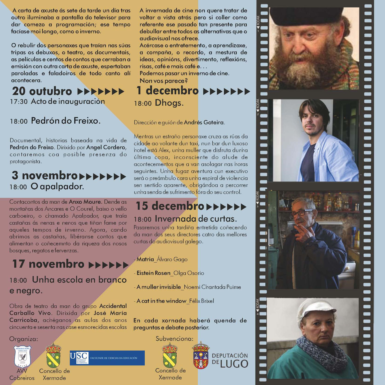 PROGRAMACIÓN VI INVERNADA DE CINE